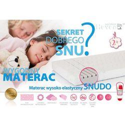 MATERAC WYSOKOELASTYCZNY HEVEA SNUDO 160x80 + rękawiczki gratis!!