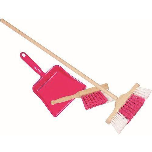 Zestawy do sprzątania dla dzieci, Różowy zestaw do sprzątania