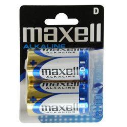 2 x bateria alkaliczna Maxell Alkaline LR20/D