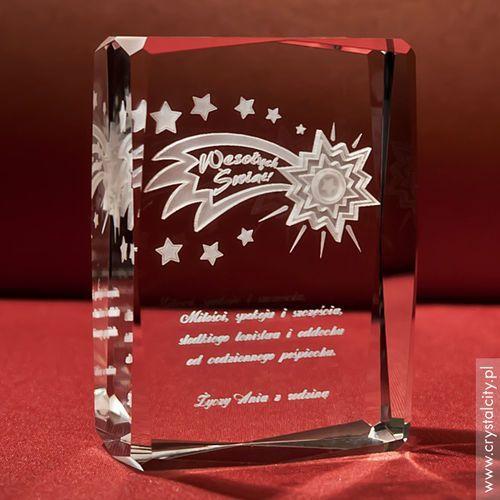 Ozdoby świąteczne, Gwiazda Betlejemska 3D • personalizowana statuetka 3D średnia • GRAWER 3D