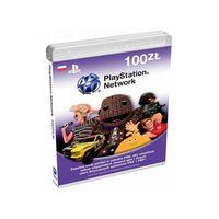 Klucze i karty pre-paid, Sony PlayStation Live Cards 100 PLN