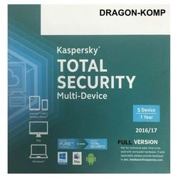 Kaspersky Total Security MD 2019 5PC/1rok ANG