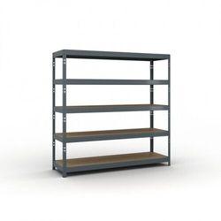 Regał półkowy 2000 x 2000 x 600 mm, nośność 500 kg