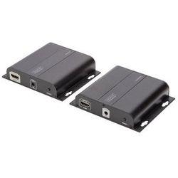 DIGITUS Professional DS-55122 4K HDMI Extender via CAT / IP (Set)