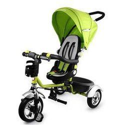 Rowerek trójkołowy Tim Plus zielony