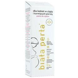 Biała perła pasta dla kobiet w ciąży 75ml