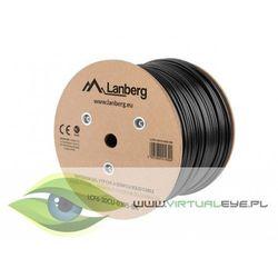 LANBERG Kabel FTP Kat.6 CU 305m drut outdoor żelowany