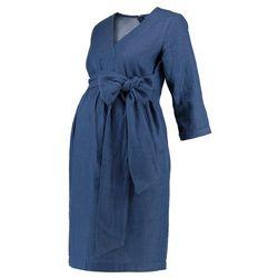 MAMALICIOUS MLVINTAGE 3/4 DRESS Sukienka letnia medium blue