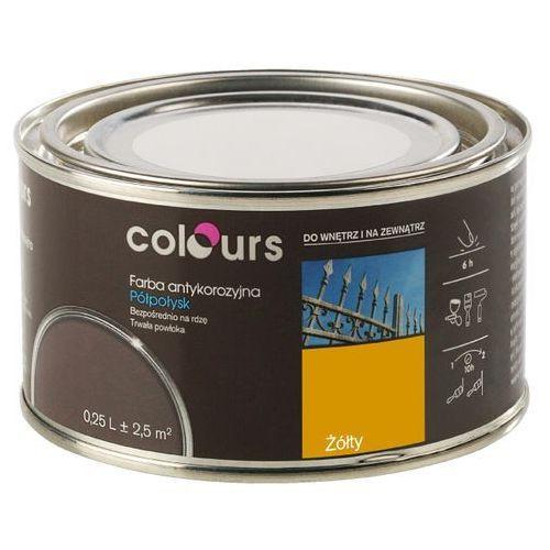 Farby, Farba antykorozyjna Colours żółta 0,25 l