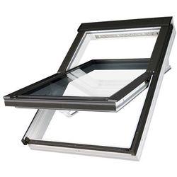 Okno dachowe obrotowe PTP-V U3 Fakro - 78x118, biały
