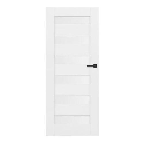 Drzwi wewnętrzne, Drzwi pełne Trame 60 lewe białe