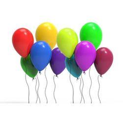 Balony lateksowe pastelowe mix kolorów - duże - 25 szt.