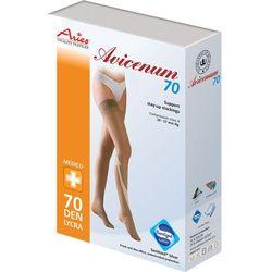 Aries Avicenum 70 - pończochy profilaktyczne z koronką samonośną