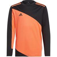 Odzież do sportów drużynowych, Bluza bramkarska dla dzieci adidas Squadra 21 GoalKeeper Jersey Youth pomarańczowo-czarna GK9806