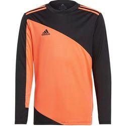 Bluza bramkarska dla dzieci adidas Squadra 21 GoalKeeper Jersey Youth pomarańczowo-czarna GK9806