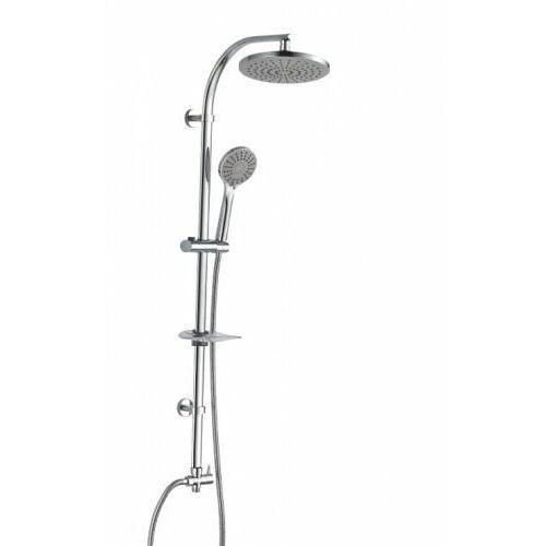 Panele prysznicowe, SOTBE LARK Kolumna prysznicowa z deszczownicą