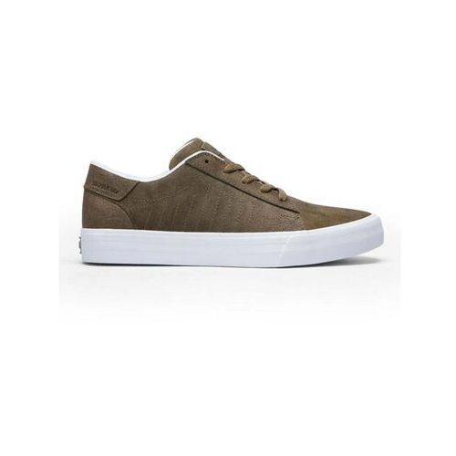 Męskie obuwie sportowe, buty SUPRA - Belmont Mocha-White (MOC) rozmiar: 42