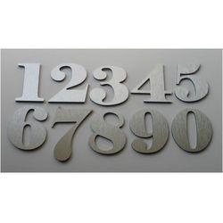 Numer, Numery na Drzwi z aluminium wys. 6,5 cm