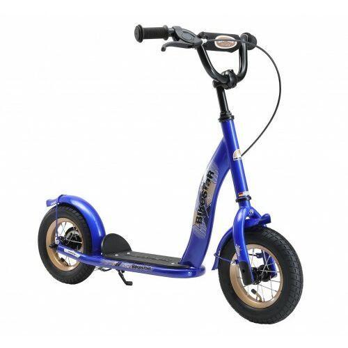 """Hulajnogi, Hulajnoga dla dzieci pompowane koła 10"""" BikeStar kolor granatowy"""