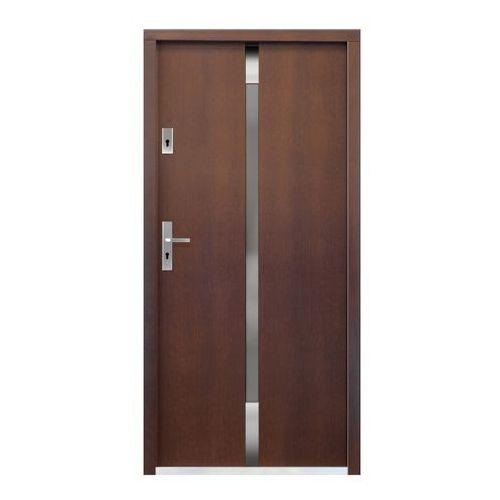 Drzwi zewnętrzne, Drzwi zewnętrzne drewniane Etna 90 prawe