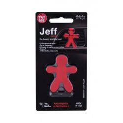 Mr&Mrs Fragrance Jeff Raspberry & Patchouli zapach samochodowy 1 szt unisex