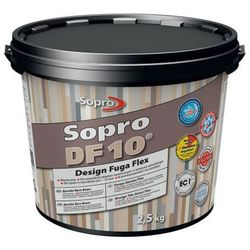 Fuga szeroka Sopro Flex DF10 Design 59 brąz bali 2 5 kg
