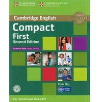 Książki do nauki języka, Compact First 2nd Edition. Podręcznik bez Klucza + CD (opr. miękka)