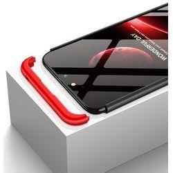 GKK 360 Protection Case etui na całą obudowę przód + tył Nokia 6.1 czarno-niebieski