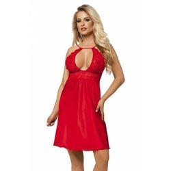 Dkaren afrodyta czerwona damska koszula nocna