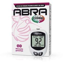 Glukometr Abra zestaw do pomiaru glukozy we krwi x 1 sztuka
