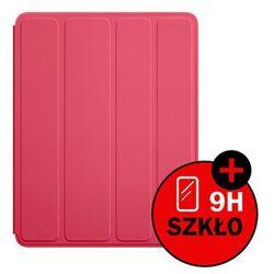 Etui Smart Case do Apple iPad 2 3 4 + SZKŁO HARTOWANE - Różowy