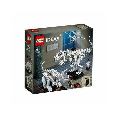 Klocki dla dzieci, Lego IDEAS Szkielety dinozaurów dinosaur fossils 21320