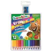 Kredki, Kredki 12 kolorów Bambino