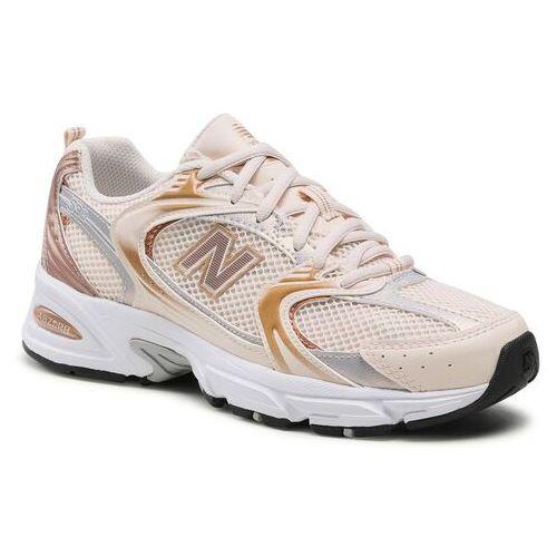 Damskie obuwie sportowe, Sneakersy NEW BALANCE - MR530EMC Beżowy