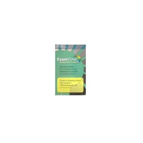 Książki do nauki języka, Footprint Reading Library ExamView Pro CD-ROM Level 1300 Headwords