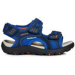 Geox sandały chłopięce Strada 31 niebieskie