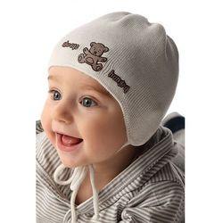 Czapka niemowlęca wiązana 5X34B0 Oferta ważna tylko do 2019-07-11