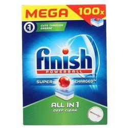 ZESTAW 5x FINISH 100szt Powerball All in 1 Tabletki do zmywarki