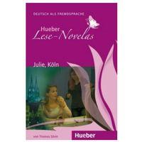 Książki do nauki języka, Hueber Hörbucher: Lese - Novelas (A1):: Julie, Köln, Leseheft (opr. miękka)