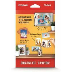 Canon zestaw papieru fotograficznego Creative Kit, MG-101 + RP-101 + PP-201 (3634C003)