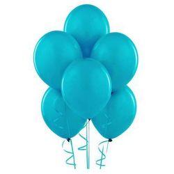 Balony lateksowe pastelowe turkusowe - 12 cali - 25 szt.