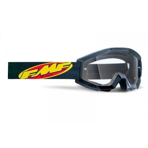 Gogle i okulary motocyklowe, Fmf gogle powercore core black szyba clear