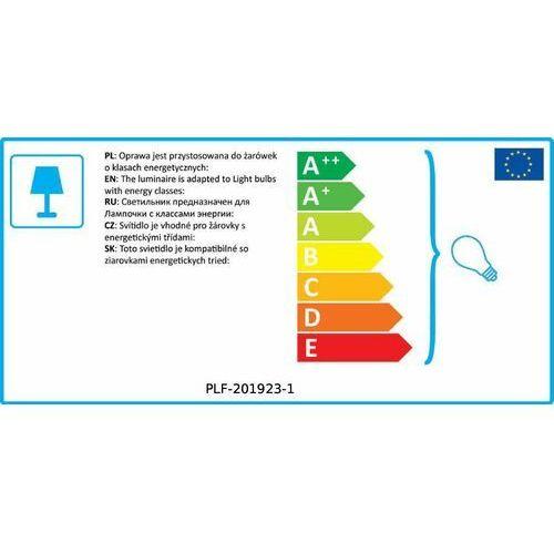 Lampy sufitowe, Italux Spoletto PLF-201923-1 plafon lampa sufitowa 1x40W G9 złoty