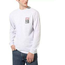 koszulka VANS - Mn New Stax Ls Ash Heather (RKZ) rozmiar: XL