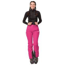 Spodnie narciarskie damskie BIG WHITE PANTS W pink fuchsia - 92