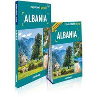 Mapy i atlasy turystyczne, Explore! guide light Albania (przewodnik + mapa) - Izabela Nowak (opr. broszurowa)