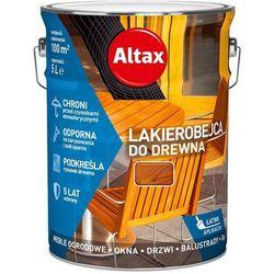 ALTAX- lakierobejca do drewna, tik, 5 l