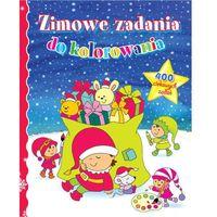 Książki dla dzieci, Zimowe zadania dla dziewczynek. - Wiśniewska Anna, Wiśniewski Krzysztof (opr. miękka)