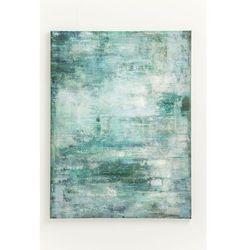 KARE Design:: Obraz Touched Abstract niebieski 90 x 120 cm