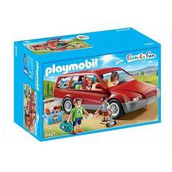 Playmobil ® Family Fun Samochód rodzinny 9421 - czerwony